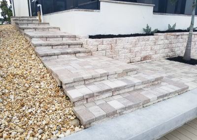 Paver and Stone Steps Cape Coral