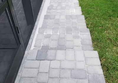 Paver Walkway in Cape Coral
