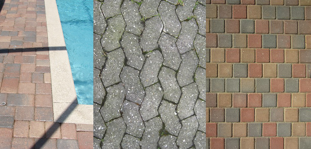 cleaning brick pavers