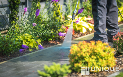 CLEANING AND MAINTAINING YOUR PAVERS