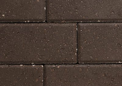 dark brown pavers