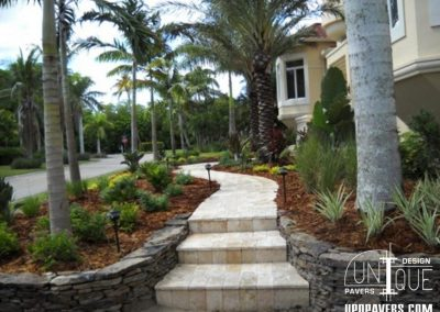 Paver Walkway and Homefront Installation Southwest Florida