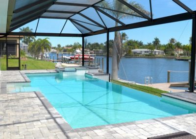 Cape Coral Paver Pool Patio