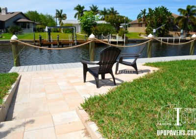 Paver Steps and Paver Walkway Cape Coral