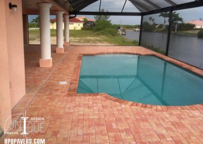 Paver Installation of Pool Deck in Naples and Fort Myers