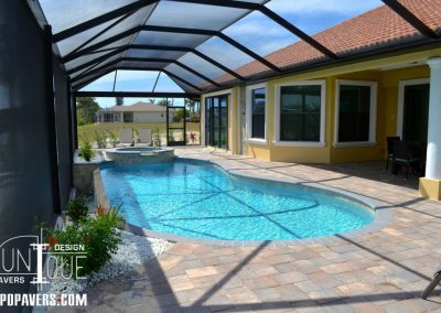 Cape Coral Pool Deck Paving