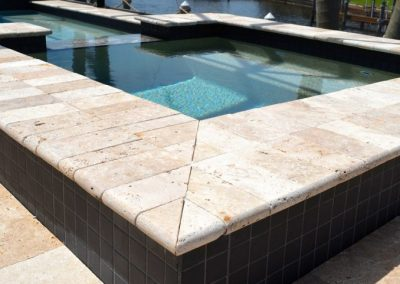 Napels Florida Paver Pool Deck