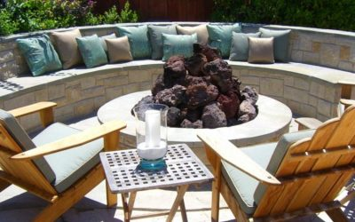 Use Pavers To Create A Sitting Wall