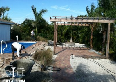Paver Pool Deck and Patio Installation