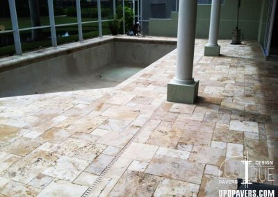 Paver Pool Deck and Patio