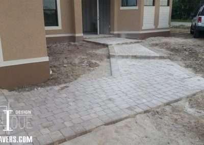 Paver Steps and Walkway