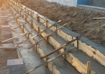 Paver Retaining Wall Installation