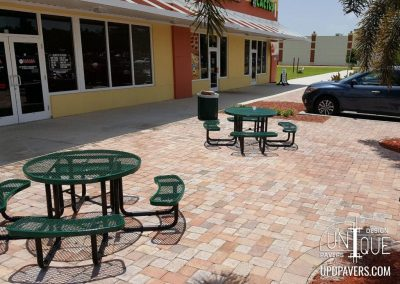 Commercial Paver patio