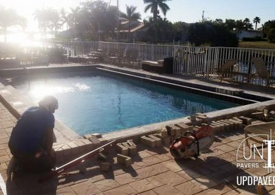 Commercial Pool Deck Installation