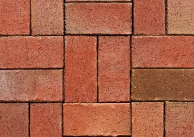 crimson pavers