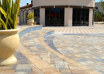 Commercial Paver Steps