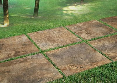 multicolor gold porcelain pavers