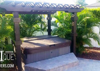 Paver Patio and hottub
