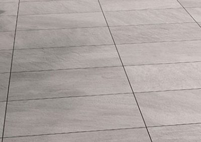 point silver porcelain pavers