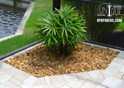 Naples Paver Pool Deck Planter
