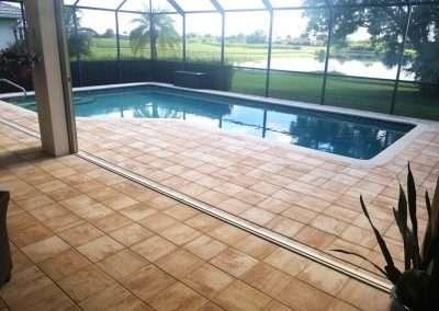 Marco Island Paver Pool Deck