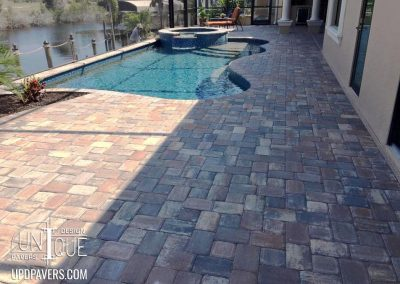 Estero Paver Pool Deck and Paver walkway