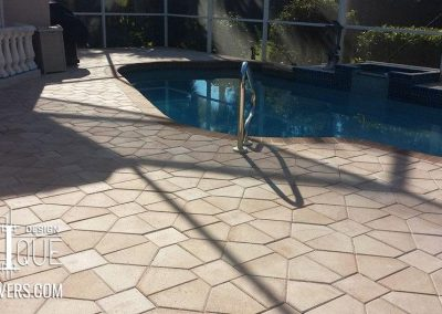 Estero Paver Pool Deck