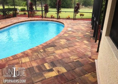 Cape Coral Paver Pool Deck