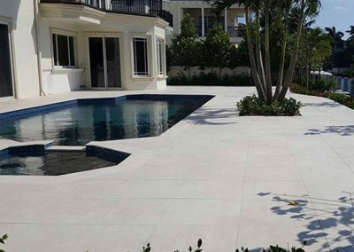 porcelain beach beige pavers