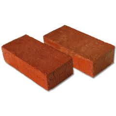 red flash pavers