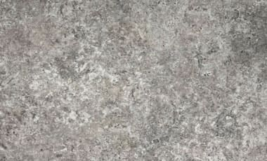 silver travertine porcelain pavers
