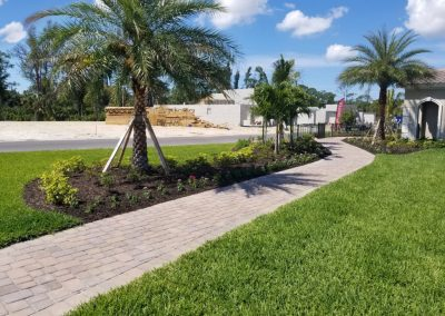 Venetian Clubhouse Commercial Paver Walkway
