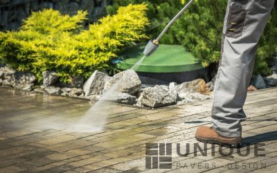 Is It Time to Pressure Wash Your Pavers?
